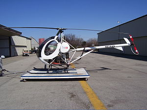 MD Helicopters - Schweizer 300CB, which began as the Hughes Model 269 in the 1950s.