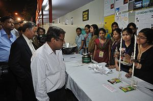 Science communication - Image: Science & Technology Fair 2011 Kolkata 2011 02 09 0921
