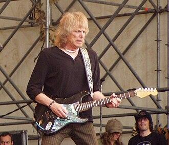 Scott Gorham - Gorham with Thin Lizzy; Monsters of Rock Festival, Milan, Italy 2007