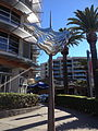Sculpture Ann Street, Fortitude Valley, Brisbane.JPG