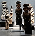 Sculptures at the Pre-Columbian Art Museum in Santiago, Chile.jpg