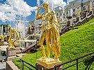 Sculptures on the Grand Cascade of Peterhof 04.jpg