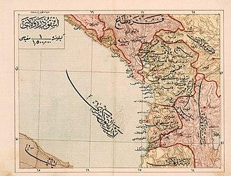 Sanjak of Scutari - The Sanjak of Shkodra (1907)