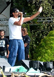 Sean Paul nel settembre del 2005.