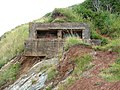 Second World War gun emplacement above Watchet Harbour - geograph.org.uk - 1714818.jpg