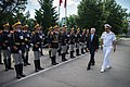 Secretary Mabus reviews Romanian military personnel. (14221606850).jpg
