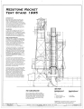 Section - Marshall Space Flight Center, Redstone Rocket (Missile) Test Stand, Dodd Road, Huntsville, Madison County, AL HAER ALA,45-HUVI.V,7A- (sheet 5 of 7).png