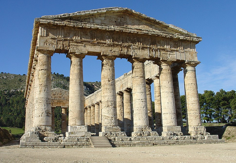 Segesta, Tempio greco