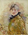 Self-Portrait by Berthe Morisot, 1885.jpg