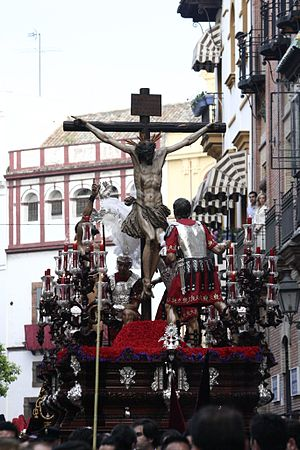 Holy Week in Spain - Holy Week procession in Sevilla