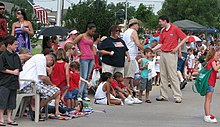 Senator David Holt at Bethany, OK Parade July 4 2011.jpg