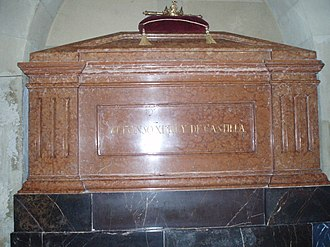 Royal Collegiate Church of Saint Hippolytus - Image: Sepulcro de Alfonso XI el Justiciero