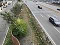 Serpentine wall along Mass Pike from Everett St Bridge.agr.jpg