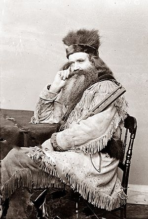 Mountain man - Seth Kinman, a notable, 19th century, mountain man known to have hunted down around 800 grizzly bears.