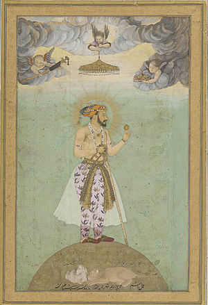 "Taj Mahal - ""Shah Jahan on a globe"" from the Smithsonian Institution"