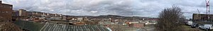 St Vincent's Quarter - Panorama of Shalesmoor Area from St Vincents Church, Solly Street
