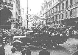 Shanghai Special Naval Landing Force going to the Nanking Road.jpg