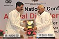 Sharad Pawar and the Vice Chairman National Disaster Management Authority, Shri M. Shashidhar Reddy, during the Inaugural Session of the National Conference on Animal Disaster Management, in New Delhi on April 17, 2013.jpg