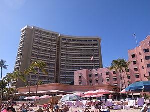 Sheraton Waikiki Hotel - Sheraton Waikiki (from Waikiki beach)