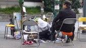 File:Shoeshiner - working - shimbashi - japon - 30 mars 2016.webm