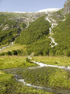 Jostedal Former municipality in Sogn og Fjordane, Norway