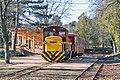 Short passenger train of the Matravasut tourist railway (34067066325).jpg