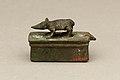 Shrew-mouse surmounting shrine-shaped box for an animal mummy MET 04.2.656 EGDP014766.jpg