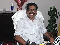 Shri Mullappally Ramachandran taking over the charge of the Minister of State for Home Affairs, in New Delhi on May 30, 2009.jpg