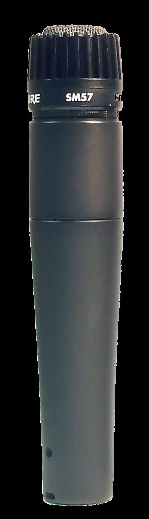 Shure SM57 - The Shure SM57 microphone