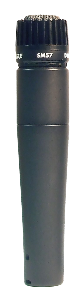 Shure SM57 - The Shure SM57 microphone