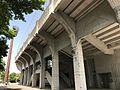 Side view of Fukuoka Prefectural Kasuga Park Baseball Park.jpg