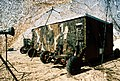 Side view of the camouflaged communication trailer, used during exercise Bright Star '80 - DPLA - 5dfa0bcf12d0c41fc6d00aa26dd6c1b5.jpeg