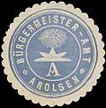 Siegelmarke Bürgermeister-Amt Arolsen W0337964.jpg