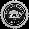 Siegelmarke Der Magistrat zu Bibra W0313072.jpg