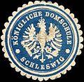 Siegelmarke Königliche Domschule - Schleswig W0215506.jpg
