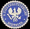 Siegelmarke Königliche Eisenbahn - Betriebsamt - Dortmund W0229492.jpg