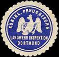Siegelmarke K.Pr. Landwehr Inspektion W0283666.jpg