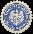 Siegelmarke K.Pr. Schullehrer-Seminar in Merzig W0343036.jpg
