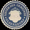 Siegelmarke Siegel der Gemeinde Olbersdorf W0320650.jpg