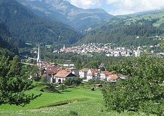 Sils im Domleschg - Sils im Domleschg (foreground)