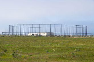 Silver Strand Training Complex - Silver Strand Training Complex antenna array