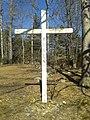 Silverbook Methodist Church - cross in cemetery.jpg