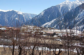 Humla District - Simikot-headquarter of Humla