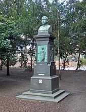 Denkmal in der Friedberger Anlage in Frankfurt (Quelle: Wikimedia)