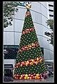 Singapore Raffles City Christmas Tree-2 (6634164901).jpg