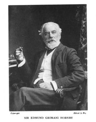 Edmund Grimani Hornby - Sir Edmund Hornby, jurist