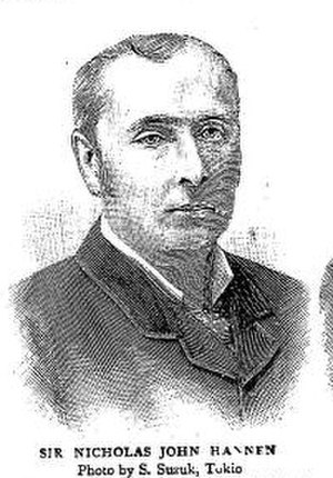 Nicholas John Hannen - Chief Justice of the British Supreme Court for China and Japan