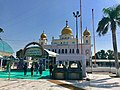 Sirhind Fatehgarh Sahib gurudwara Punjab India, sanctum where two sons of Guru Gobind Singh were buried alive by Islamic army.jpg
