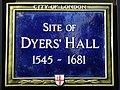 Site of Dyers Hall 1545 - 1681.jpg