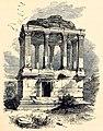 Sketch of Gümüşkesen Tomb at Milas 1866.jpg